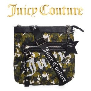 Juice Couture Camo Star Studded Crossbody Bag